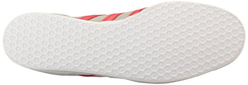 adidas Gazelle, Scarpe da Ginnastica Basse Unisex – Adulto Medium Grey Scarlet