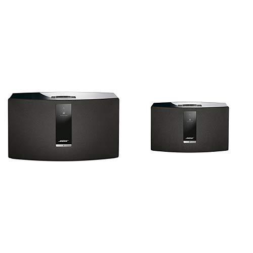 Bose SoundTouch 30 Series III kabelloses Music System (geeignet für Alexa) schwarz &  SoundTouch 20 Series III kabelloses Music System (geeignet für Alexa) schwarz