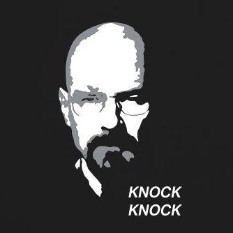 Knock Knock Walter - Damen T-Shirt Grün