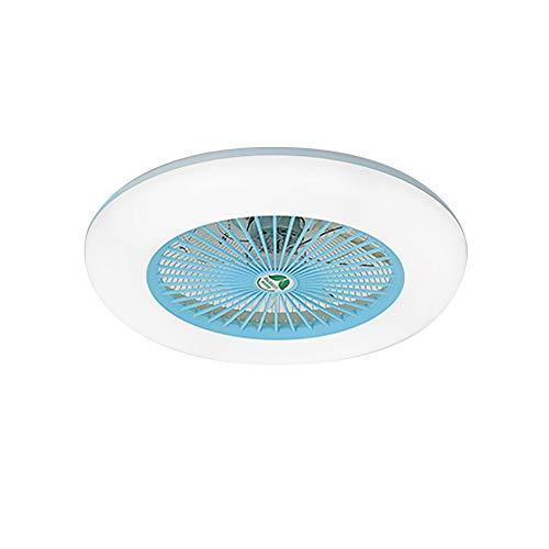 Lepeuxi Ventilador de Techo con iluminación Luz LED Ajustable Velocidad del Viento...