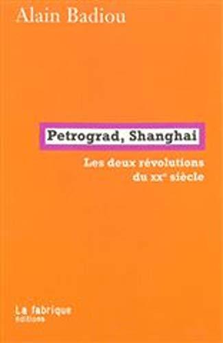 Petrograd, Shanghai : Les deux révolutions du XXe siècle