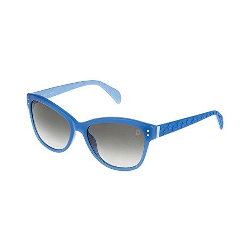 Tous STO311-59517B, Montures de Lunettes Femme, Bleu (Shiny Full Blue), 59