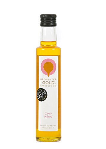 Broighter GOLD Rapeseed Oil - Garlic Infused 250ml