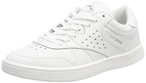 Used, L.A. Gear Women's Lily Trainers White (Wht - Soft Verginia for sale  Delivered anywhere in UK