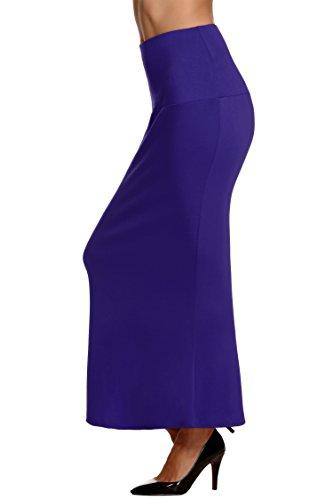 acevog-falda-de-tubo-de-talle-alto-larga-y-ajustada-con-acabado-en-volante-para-mujer