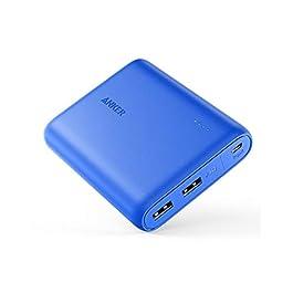 Anker PowerCore 13000 mAh Powerbank Batteria esterna 2 porte 3A Caricabatterie portatile con tecnologia PowerIQ e…
