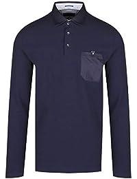dca6ba7ae98 Ted Baker - Camiseta de Manga Larga - para Hombre Azul Azul Marino Medium