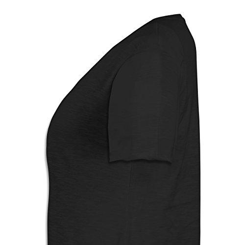 Geburtstag - 1987 Limited Special Edition - Weit geschnittenes Damen Shirt in großen Größen mit V-Ausschnitt Schwarz