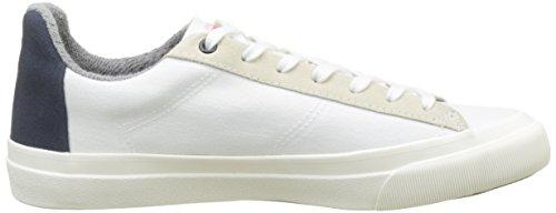 Faguo Herren sloe Sneaker Blanc (whi/nav)