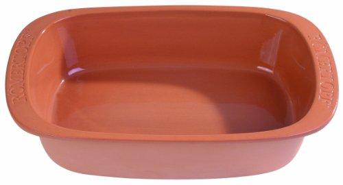 Römertopf Bräter Keramik große Auflaufform 4 Liter