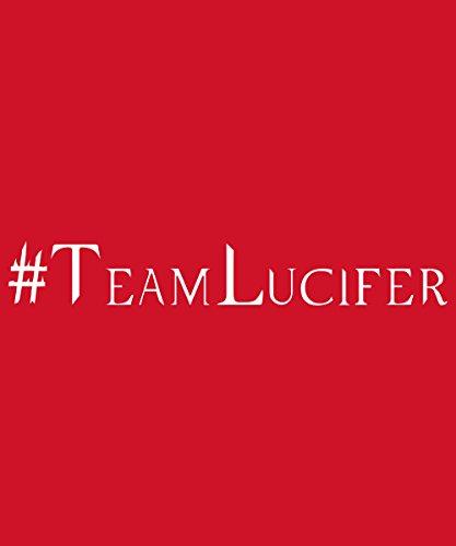 -- Hashtag Lucifer -- Girls T-Shirt Rot
