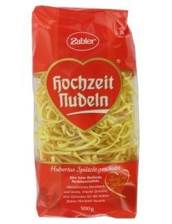 Zabler Hochzeit Nudeln Hubertus SpÃEURtzle geschabt 500 g