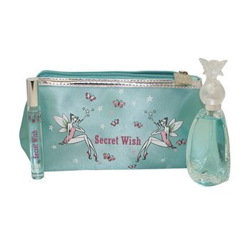 Anna Sui Secret Wish Gift Set (50Ml Edt + Rollerball + Pouch)