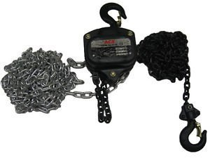 Secure Fix Direct 1.5 Ton 3 Metre Chain Block - 1500Kg / Lift / Manual / Hand / Hoist / Tackle