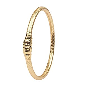 Piah Fashion Gold Plated Handmade Meenkari Bangle Set for Women