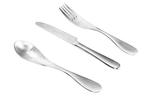ISIN Daeden Kitchenware Series: Set Posate in Acciaio Inossidabile, Forchetta, Coltelllo e