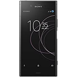 "Sony Xperia XZ1 - Smartphone de 5.2"" (Bluetooth, Octa Core Snapdragon 835, 4 GB de RAM, memoria interna de 64 GB, cámara de 19 MP, Android), Negro"