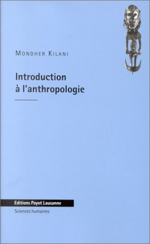 Introduction  l'anthropologie