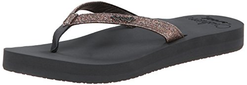 Reef Star Cushion, Tongs Femme Multicolore (Grey/Multi)