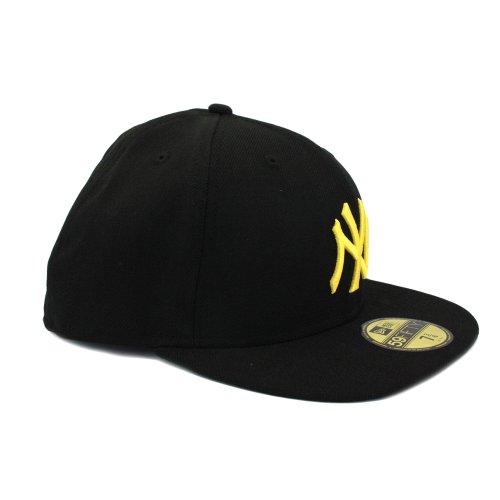 NY Yankees New Era MLB Basic 59FIFTY Caps Black Gold - 7-1/8 (Bekleidung Mlb)