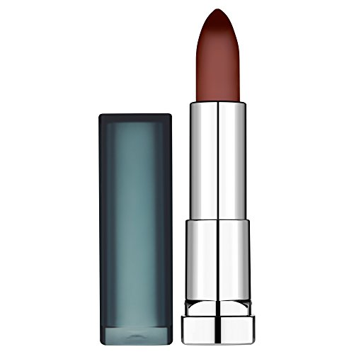 Maybelline New York Color Sensational Rossetto Matte, Finish Opaco e Texture Cremosa, 978 Burgundy Blush