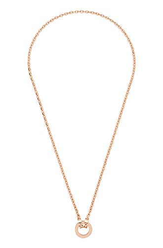 JEWELS BY LEONARDO DARLIN\'S Damen-Halskette Piccola roségold, Edelstahl IP roségold mit Mini-Clip, CLIP & MIX System, Länge 430 mm, 015904
