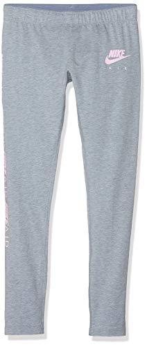 Nike Mädchen G NSW 3/4 TGHT Favorites AIR Pants, Ashen Slate/Htr/Pink Foam, M