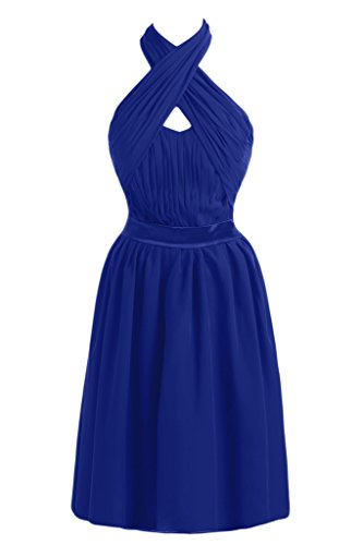 Missdressy -  Vestito  - linea ad a - Donna Blu Royal