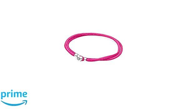 39e35ff71 Pandora Cord Bracelet 590749CPH-S1 Woman Silver: Amazon.co.uk: Kitchen &  Home