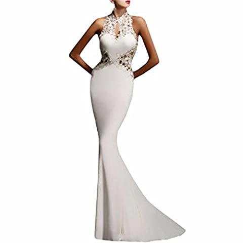 Womens Prom Evening Formal Party Dress Cocktail Backless Long Fishtail