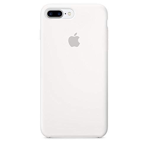 Custodia apple in silicone per iphone 7 plus - bianco
