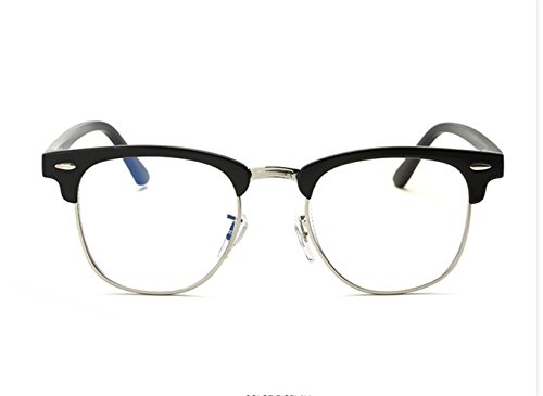 Fashion Glasses-brillenfassungen Strahlenschutz Gläser anti-blau Schutzbrillen flacher Spiegel,...