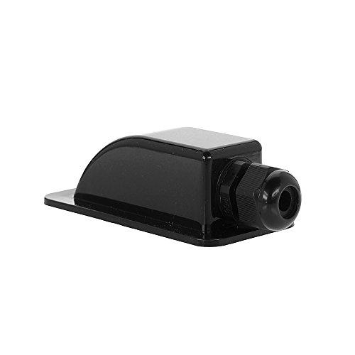 Offgridtec 006425 Dachdurchführung 1-Fach schwarz für Wohnmobil Caravan Boot Solar Kabeldurchführung ABS