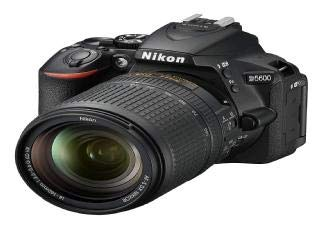 Nikon D5600 - Cámara réflex de 24 MP (DX, CMOS, Visor óptico, Montura Tipo F, SnapBridge, D-Movie...