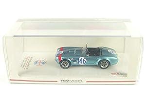 Truescale Miniatures TSM430351 - Coche en Miniatura, Color Azul, Rojo y Blanco