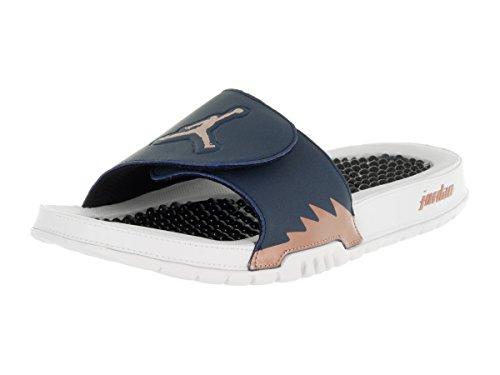 Nike Mens Hydro V Retro Leather Sandals Blau