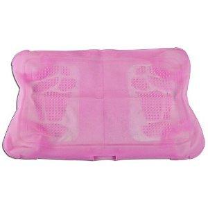 Silikon-Schutzhülle für Wii Fit Balance Board, Rutschfest, mit Massageblasen, Pink