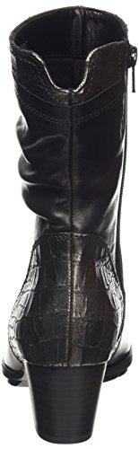 Gabor Comfort Basic 36.602, Bottes Classiques Femme Noir (schwarz (Micro) 57) (Micro 57)
