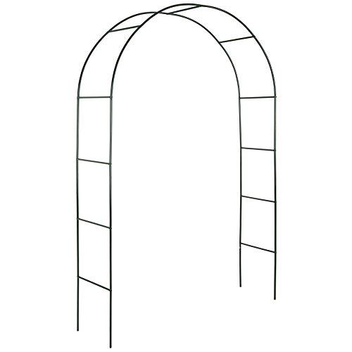 Tectake arco giardino in ferro per rampicanti arco per rosa decorationi | - disponibile in diverse quantità- (1 pezzo | no. 400767)