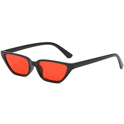 Shiduoli Retro Cat Eye Sunglasses Small Frame Brillen für Männer, Frauen (Color : B)