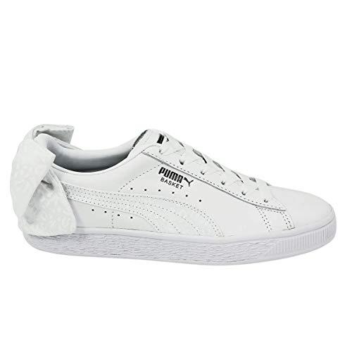 PUMA Basket Bow Damen Sneaker Weiß