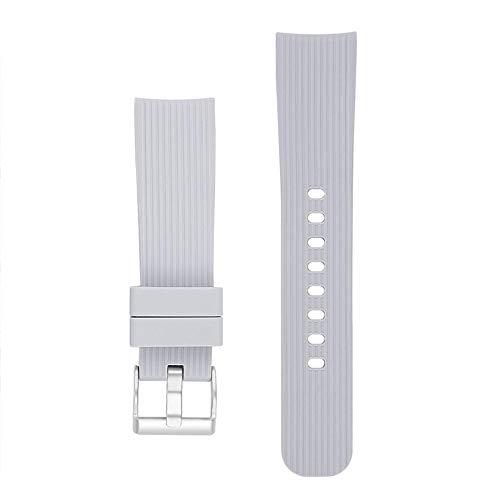 Preisvergleich Produktbild Ingeniously 20mm uhrenarmband für Galaxy Watch s4 42mm & Gear 2 wasserdicht und atmungsaktiv universal silikon sportuhr Band Armband für männer und Frauen