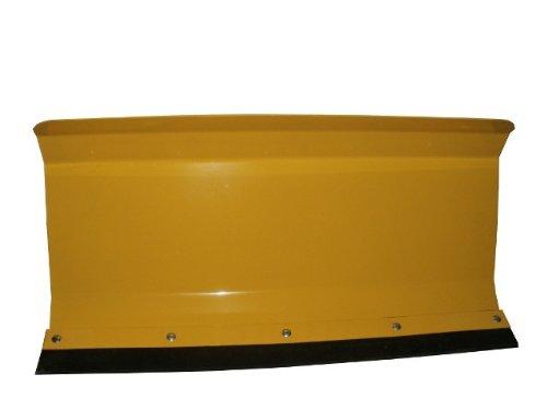 Preisvergleich Produktbild Universal Räumschild Schneeschild / Gelb 80x40cm / Gekantet / Universalschild / Besonders für Einachser-Maschinen oder Rasen-Traktoren