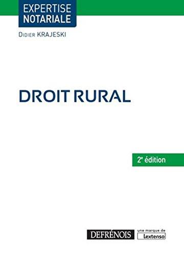 Droit rural, 2ème Ed.