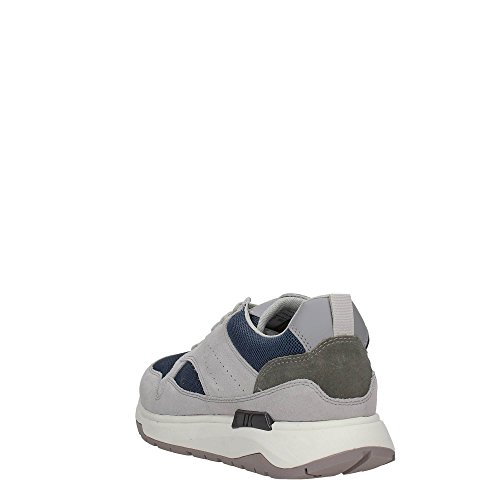 Lumberjack Detroit, Sneaker a Collo Basso Uomo Grey/jeans
