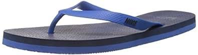 Nike Men's Aquaswift Thong Prt Hyper Cobalt,Midnight Navy  Flip Flops Thong Sandals -10 UK/India (45 EU)(11 US)
