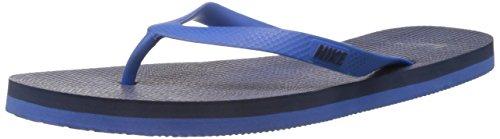 Nike Men's Aquaswift Thong Prt Hyper Cobalt,Midnight Navy  Flip Flops Thong Sandals -9 UK/India (44 EU)(10 US)  available at amazon for Rs.599