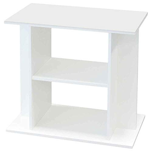 Aquadisio - Meuble pour Aquarium Blanc - 80cm