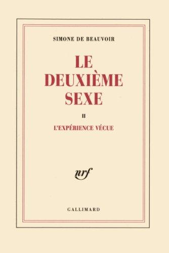 Vignette du document Le  deuxième sexe : L'expérience vécue. 2
