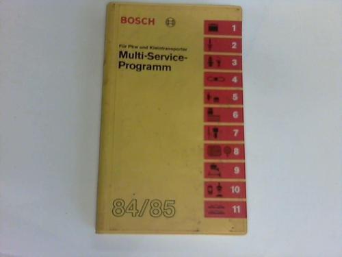 Multi-Service-Programm. Für PKW und Kleintransporter